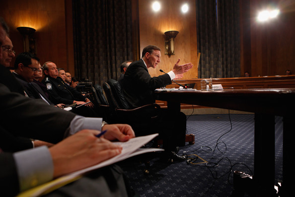 Senate Holds Hearing On Airline Safety After Discovery Of Cargo Bombs