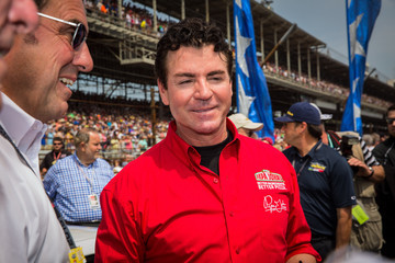 John Schnatter  Celebrities Attend Race - 2015 Indy 500