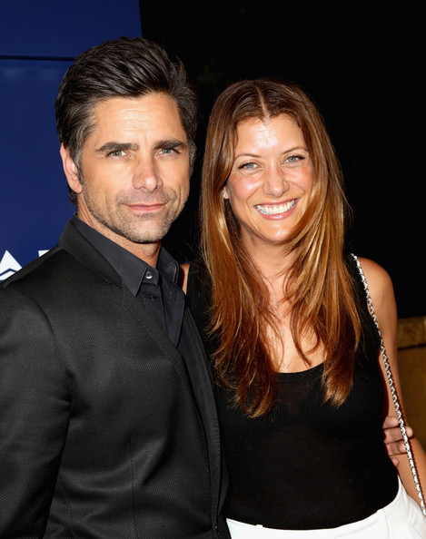 John Stamos Wife 2013 Celebs at the Delta Airlines