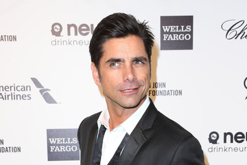 John Stamos Arrivals at the Elton John AIDS Foundation Oscars Viewing Party — Part 4