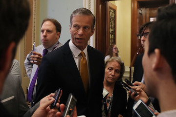 John Thune Lawmakers React to Latest News Report Surrounding President Trump and Former FBI Director Comey's Russia Investigation