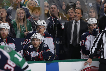 John Tortorella Columbus Blue Jackets v Dallas Stars