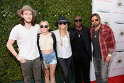 Billy Ray Cyrus and Braison Cyrus Photos Photo