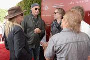 (L-R) Recording artists Robin Zander, Chad Smith, Daxx Nielsen, and Michael Anthony attend the John Varvatos 13th Annual Stuart House benefit presented by Chrysler with Kids' Tent by Hasbro Studios at John Varvatos Boutique on April 17, 2016 in West Hollywood, California.