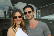 Actress KaDee Strickland and actor Jason Behr attend the John Varvatos 11th Annual Stuart House Benefit at John Varvatos Boutique on April 13, 2014 in West Hollywood, California.