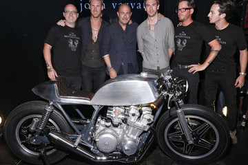 John Varvatos John Varvatos and the Black Motorcycles Unveiling