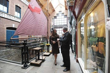 John Vincent Kate Middleton Visits Grimsby 7