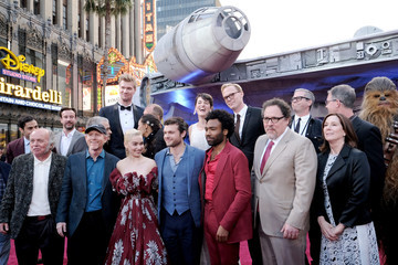 John Williams Stars And Filmmakers Attend The World Premiere Of 'Solo: A Star Wars Story' In Hollywood