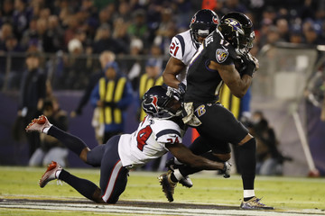 Johnathan Joseph Houston Texans v Baltimore Ravens