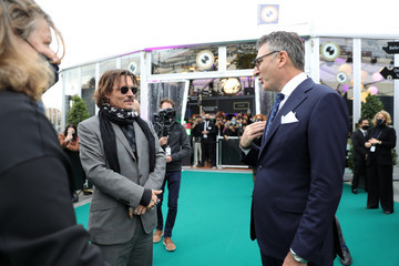 """Johnny Depp """"Crock of Gold: A few Rounds with Shane McGowan"""" Premiere - 16th Zurich Film Festival"""