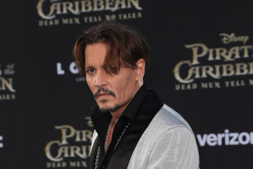 "Johnny Depp Premiere of Disney's ""Pirates of the Caribbean: Dead Men Tell No Tales"" - Arrivals"