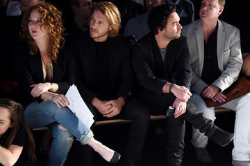 Johnny Galecki The John Varvatos Front Row at New York Fashion Week