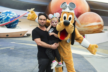 Johnny Galecki Actor Johnny Galecki Visits Walt Disney World
