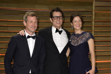 Johnny Knoxville Stars at the Vanity Fair Oscar Party