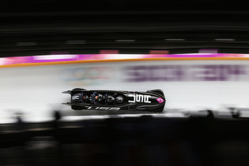 Johnny Quinn Bobsleigh - Winter Olympics Day 15