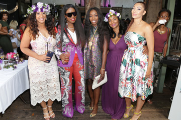 Joi Brown Sevyn Streeter and Courtney Adeleye of the Mane Choice Boss Up Brunch