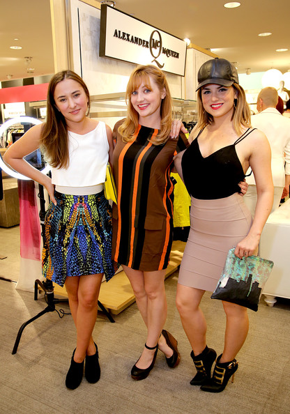 Neiman Marcus And Teen Vogue Celebrate McQ's Spring Collection, Hosted By Zelda Williams