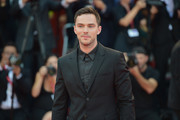 """Nicholas Hoult walks the red carpet ahead of the """"Joker"""" screening during the 76th Venice Film Festival at Sala Grande on August 31, 2019 in Venice, Italy."""