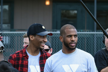 Jon Batiste Chris Paul and NBA Cares Assist New Orleans Dryades YMCA