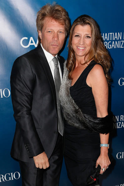 Jon Bon Jovi with beautiful, Wife Dorothea Hurley