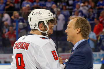 Jon Cooper Washington Capitals vs. Tampa Bay Lightning - Game Seven