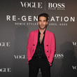 Jon Kortajarena BOSS & VOGUE Italia Party