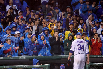 Jon Lester Divisional Round - Washington Nationals v Chicago Cubs - Game Four