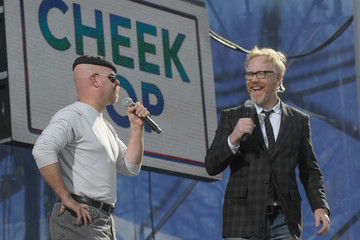 Jamie Hyneman Jon Stewart & Stephen Colbert Host Joint Rallies On The Mall