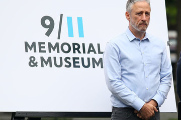 Jon Stewart Design Unveiling Of 9/11 Memorial To Honor Rescue Workers