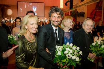 Jonas Kaufmann Karl Spiehs Celebrates His 85th Birthday in Vienna