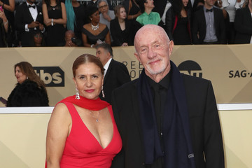 Jonathan Banks Gennera Banks 24th Annual Screen Actors Guild Awards - Arrivals