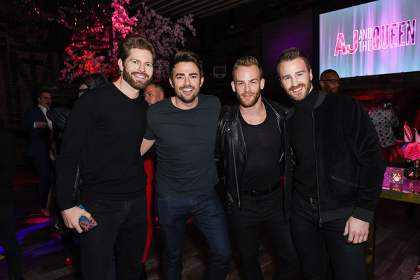 Premiere Of Netflix's 'AJ And The Queen' Season 1 - After Party [aj and the queen,season,event,nightclub,fun,party,performance,magenta,night,leisure,house,music venue,guests,jonathan bennet,jaymes vaughan,netflix,premiere,premiere,party,season,jonathan bennett,jaymes vaughan,rupaul,aj and the queen,netflix,actor,premiere,photograph,party]