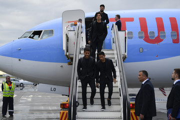 Jonathan Dos Santos Mexico Arrives In Moscow For FIFA World Cup Russia 2018