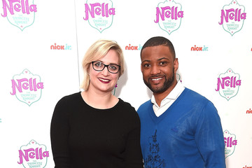 Jonathan Gill Celebs Reign at Nick Jr. Premiere of 'Nella The Princess Knight'