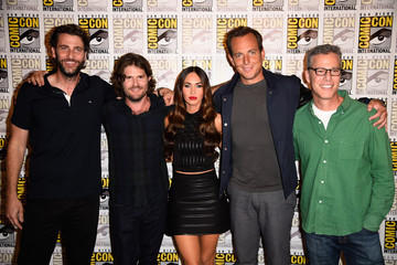 Jonathan Liebesman Andrew Form Paramount Pictures Press Line - Comic-Con International 2014