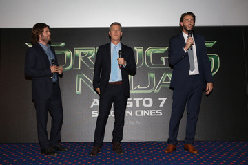 Jonathan Liebesman Andrew Form 'Teenage Mutant Ninja Turtles' Premieres in Mexico City