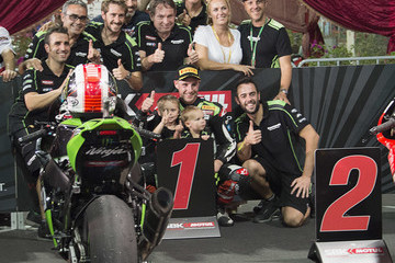 Jonathan Rea FIM Superbike World Championship in Qatar - Race 1