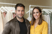 Jonathan Simkhai (L) and Louise Roe attend Jonathan Simkhai Supports Children's Hospital LA Make March Better on March 19, 2019 in West Hollywood, California.