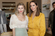 Lindsey Dupuis Bledsoe (L) and Louise Roe attend Jonathan Simkhai Supports Children's Hospital LA Make March Better on March 19, 2019 in West Hollywood, California.