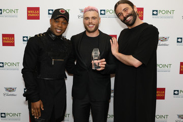 Jonathan Van Ness Celebrities Support LGBTQ Education At Point Honors Gala New York