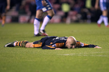 Jonjo Shelvey Wigan Athletic v Newcastle United - Sky Bet Championship