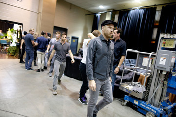 Jonny Buckland 2014 iHeartRadio Music Festival - Night 1 - Backstage