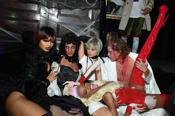 Heidi Klum's 19th Annual Halloween Party Presented By Party City And SVEDKA Vodka At LAVO New York - Inside