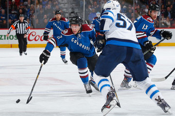 Jordan Caron Winnipeg Jets v Colorado Avalanche