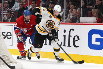 Jordan Caron Boston Bruins v Montreal Canadiens
