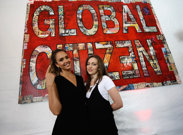 Jordan Hewson - 2014 Global Citizen Festival In Central Park To End Extreme Poverty By 2030 - VIP Lounge