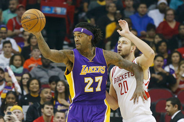 Jordan Hill Los Angeles Lakers v Houston Rockets