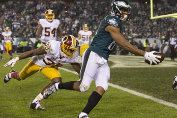 Jordan Matthews Washington Redskins v Philadelphia Eagles