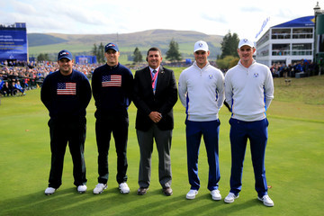 Jordan Spieth Afternoon Foursomes - 2014 Ryder Cup