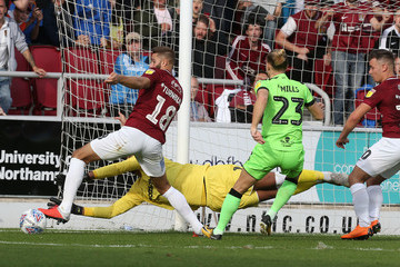 Jordan Turnbull Northampton Town vs. Forest Green Rovers - Sky Bet League Two